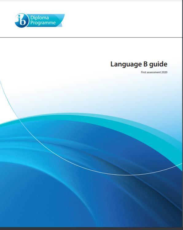 Language B Guide 2020