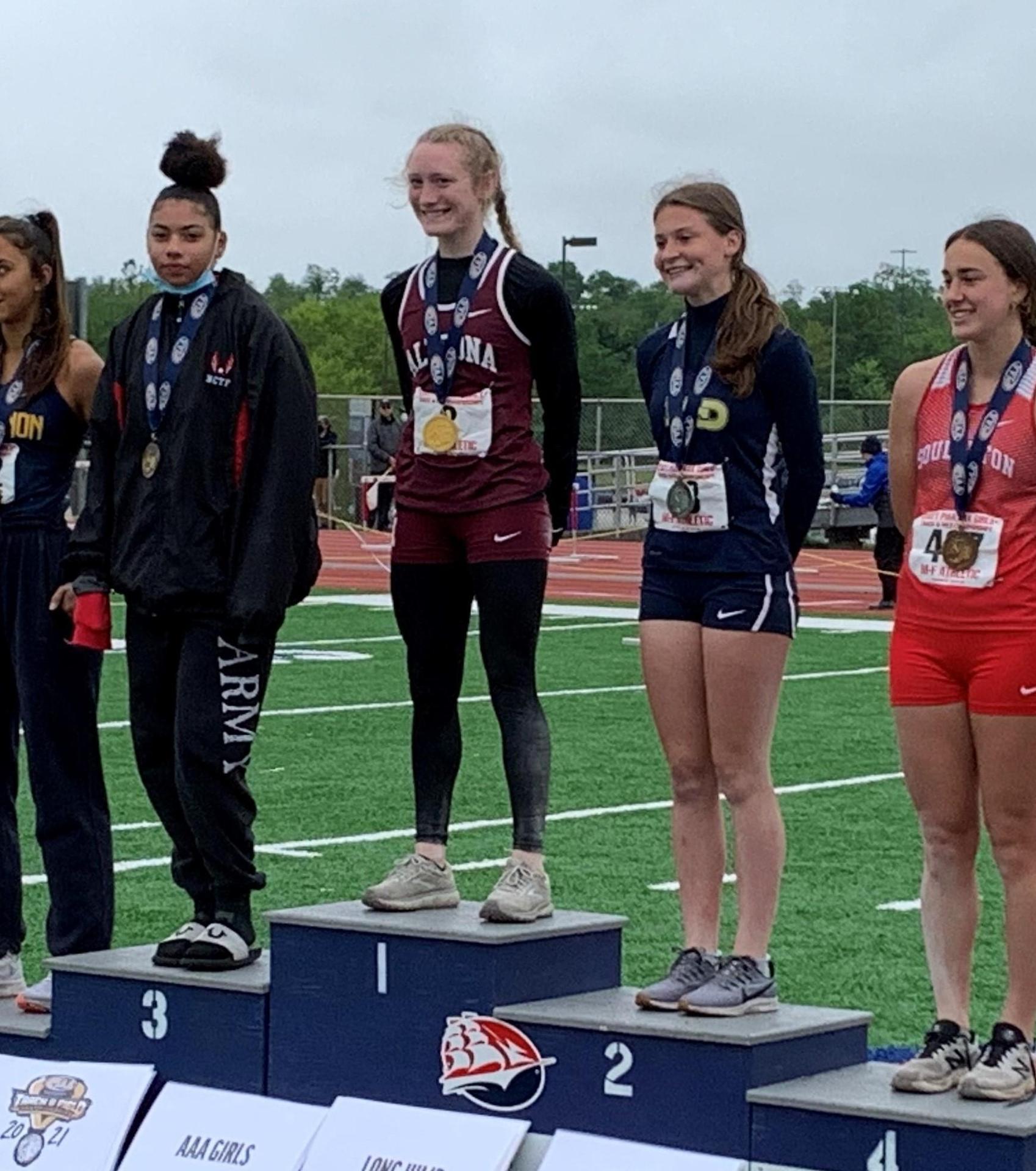 Brooke Long - State Champion Long Jump