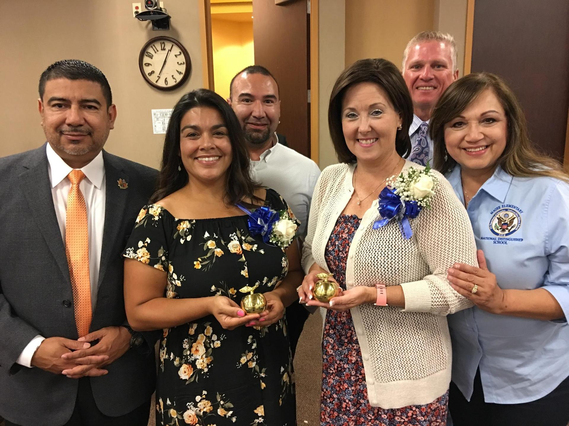 District Teachers of the Year attend the Regional Teacher of the Year Banquet