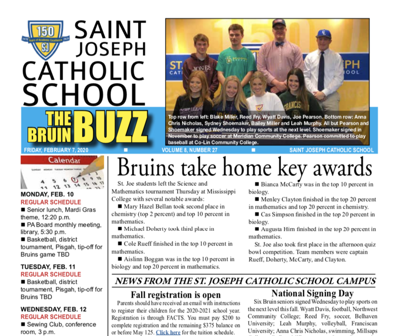 THE BRUIN BUZZ: FRIDAY, FEB. 7, 2020 Featured Photo