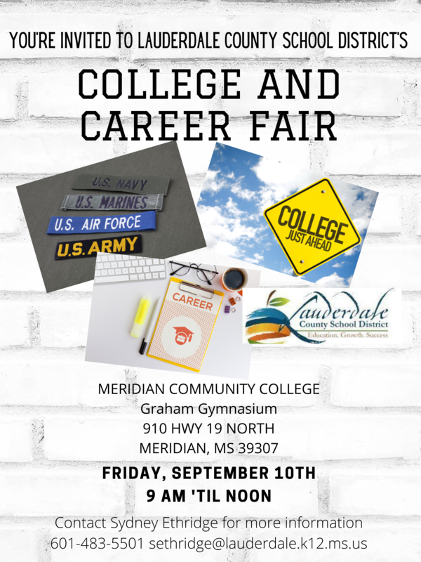 LCSD College & Career Fair Updated Flyer
