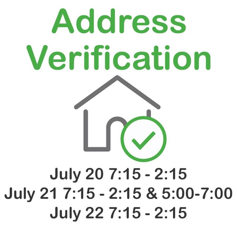 address verification