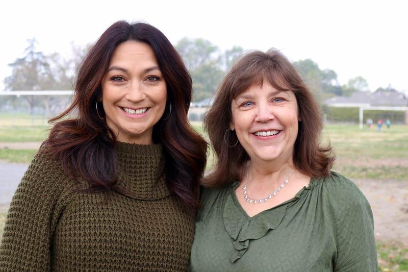 Melissa Brennan and Debra Davis