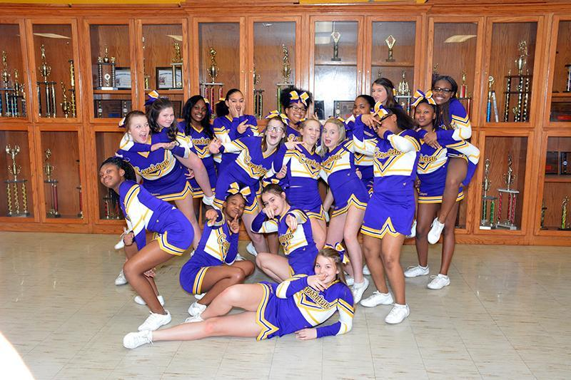 Cheerleaders crazy picture