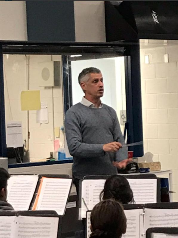 Houston Symphony Orchestra Associate Directors provides clinic for KHS Wind Ensemble Featured Photo