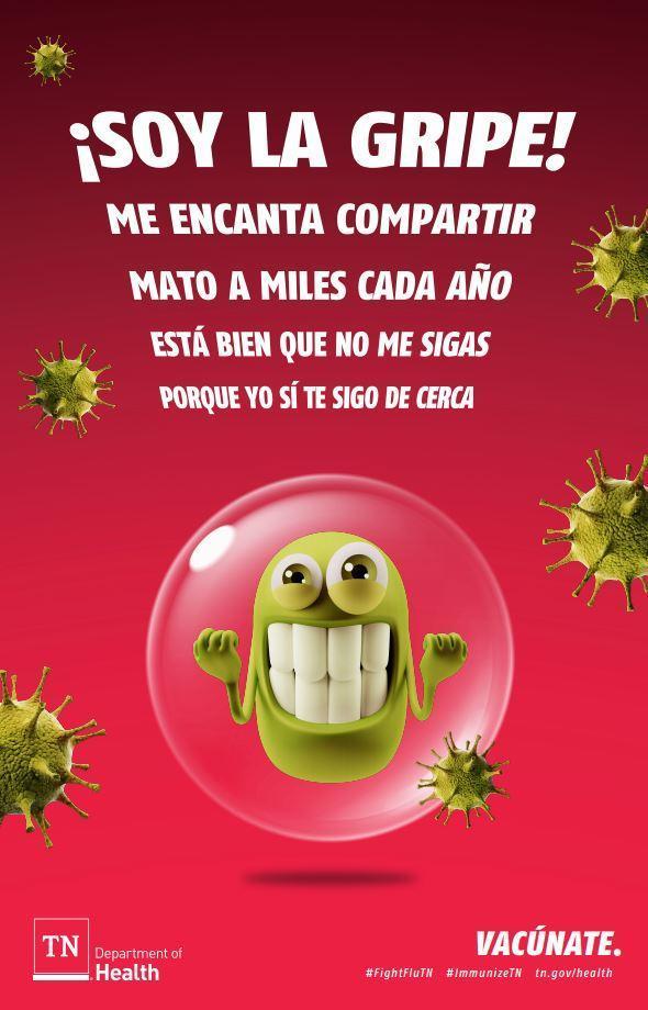 Flu Flyer Spanish