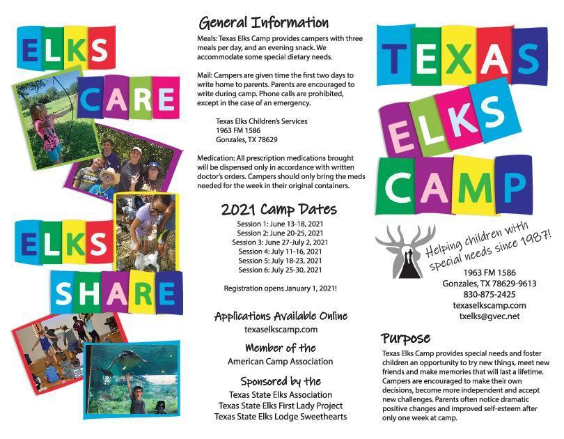 Texas Elks Camp