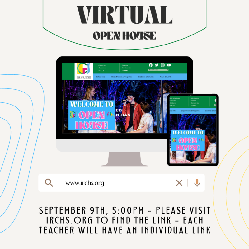 IRCHS Fall 2021 Virtual Open House Featured Photo