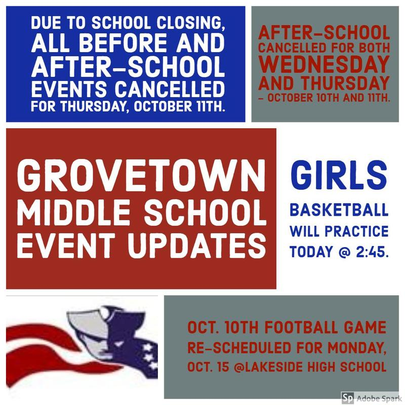 GTMS Event Updates
