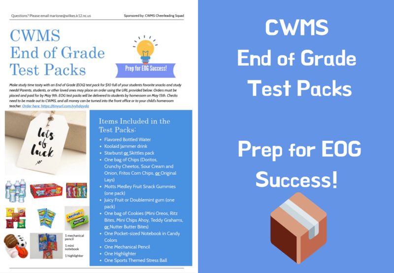 End of Grade Test Packs - Order Now! Thumbnail Image