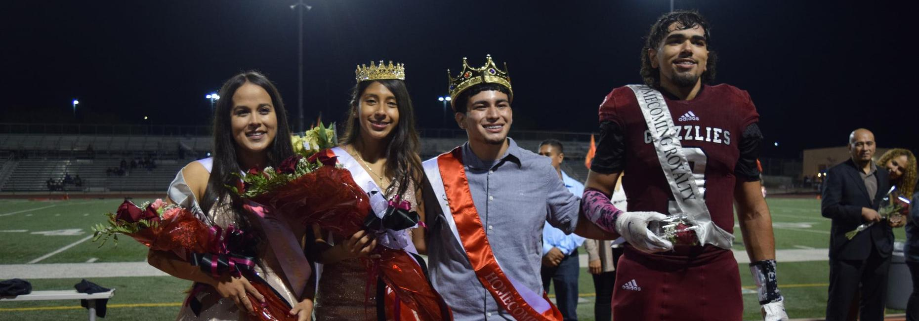 GHHS Homecoming King, Queen, Princess and Prince