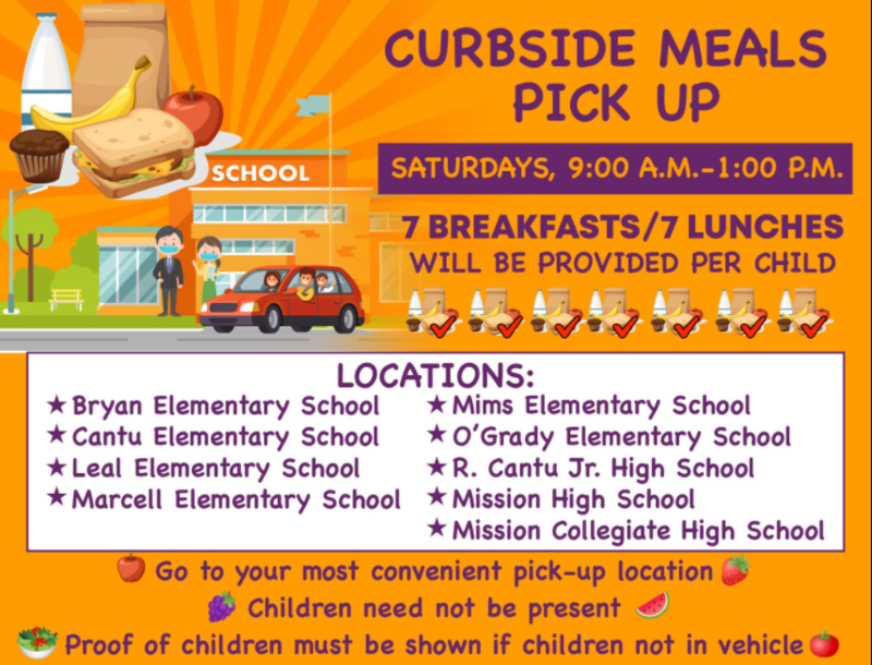 Curbside Meal Pickup Locations Updated Featured Photo