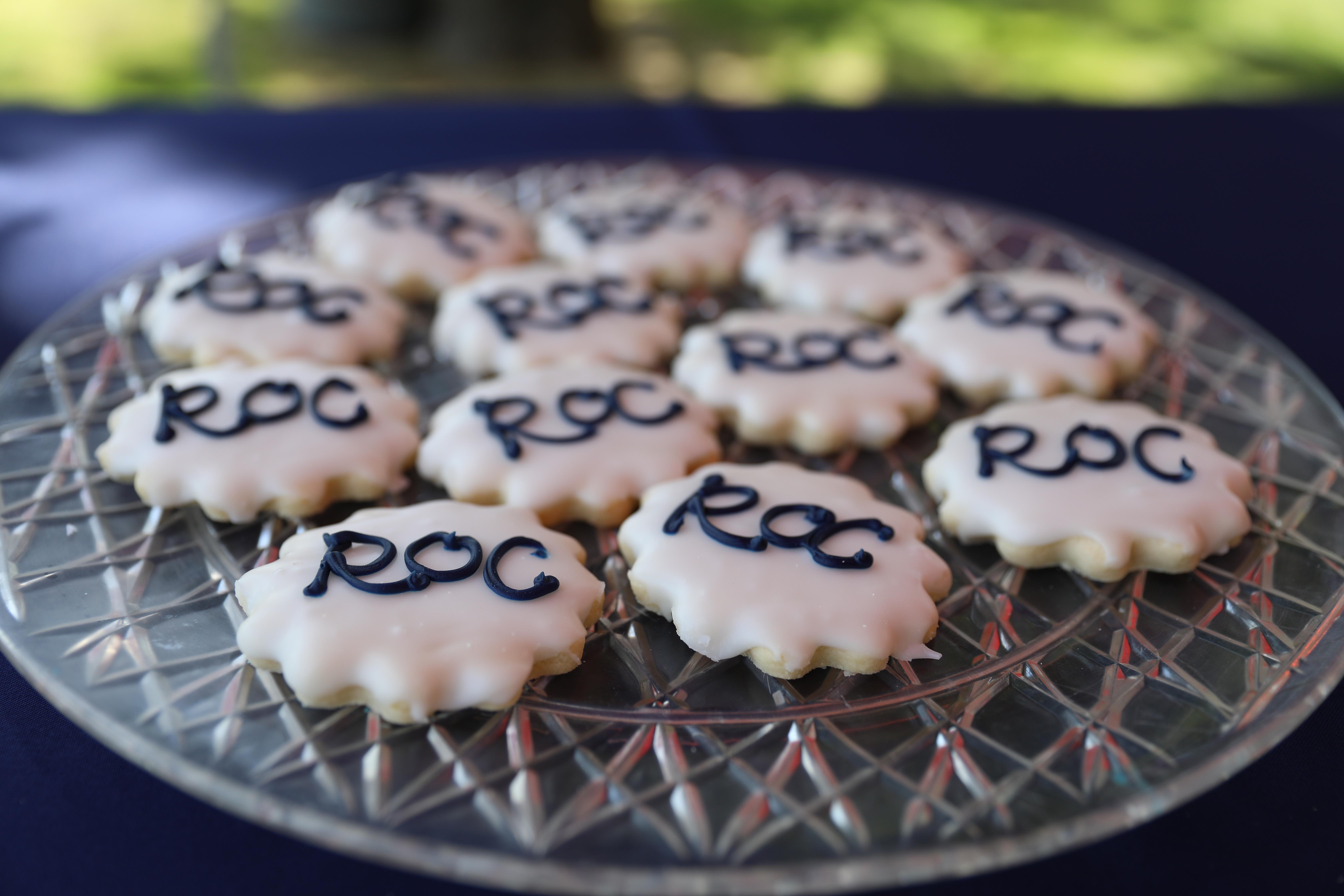 ROC Refreshments and cookies