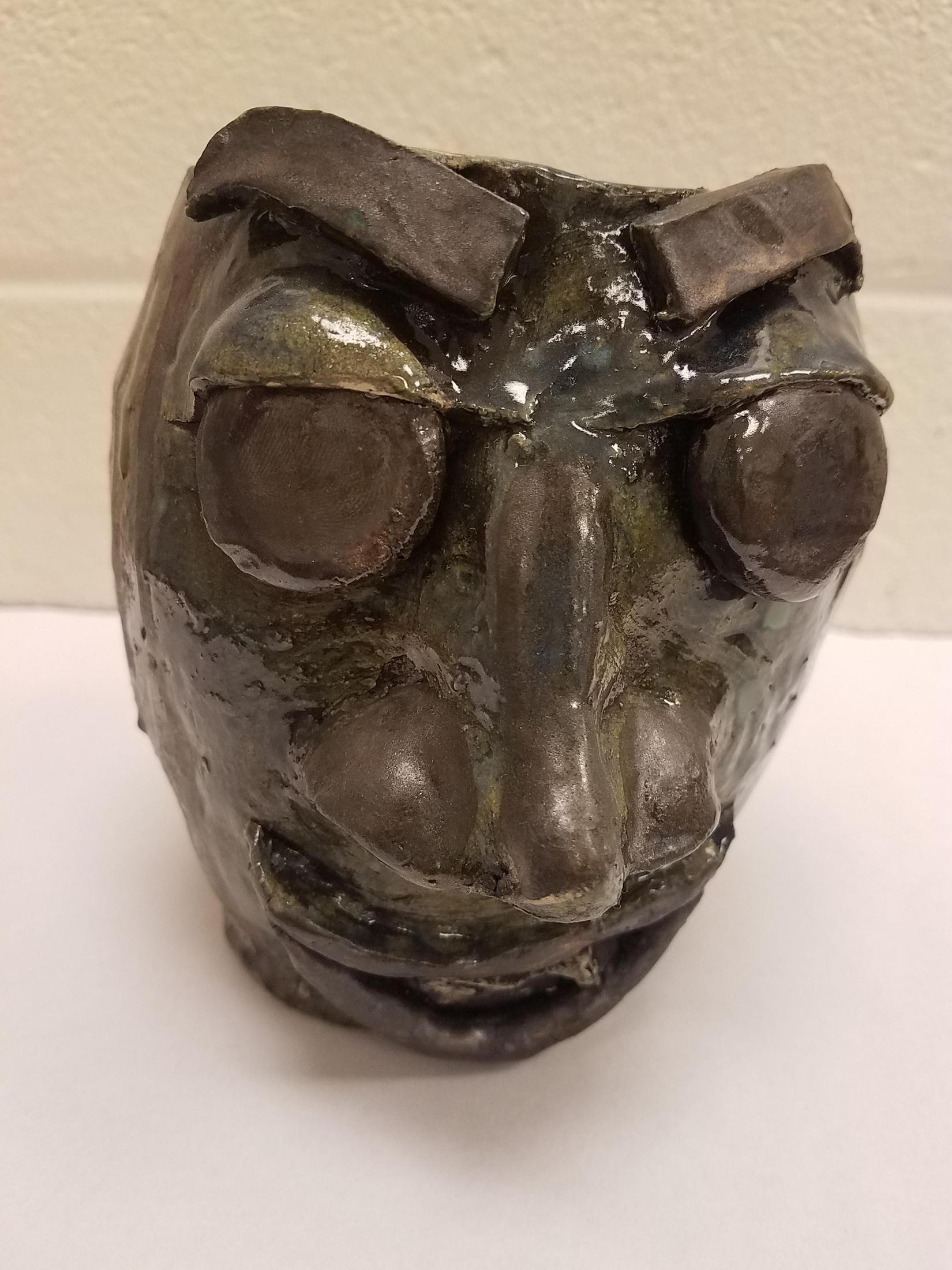 Ugly face jug