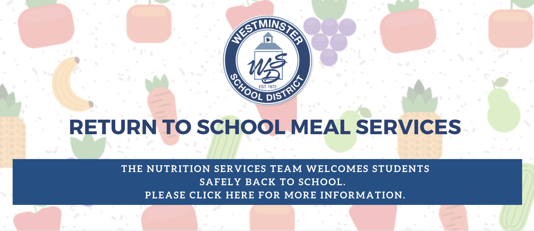 2020 2021 Return to School Meal Services Information