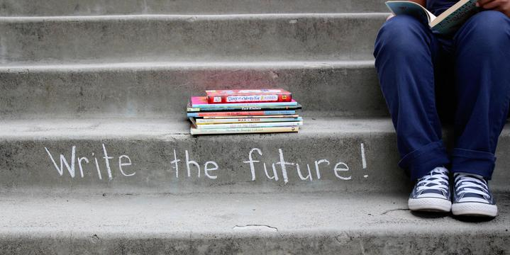 Steps/Books Image