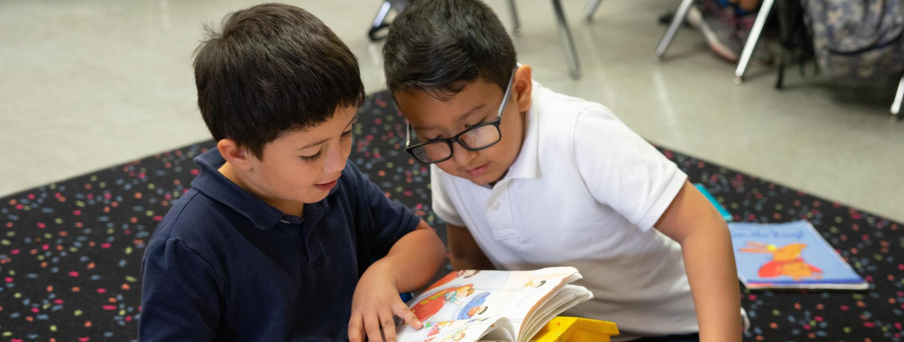Marguerita students helping students read