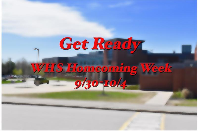 WHS Homecoming week