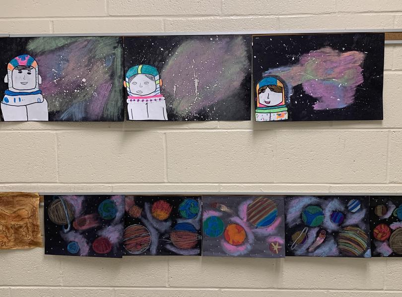 3rd grade art.