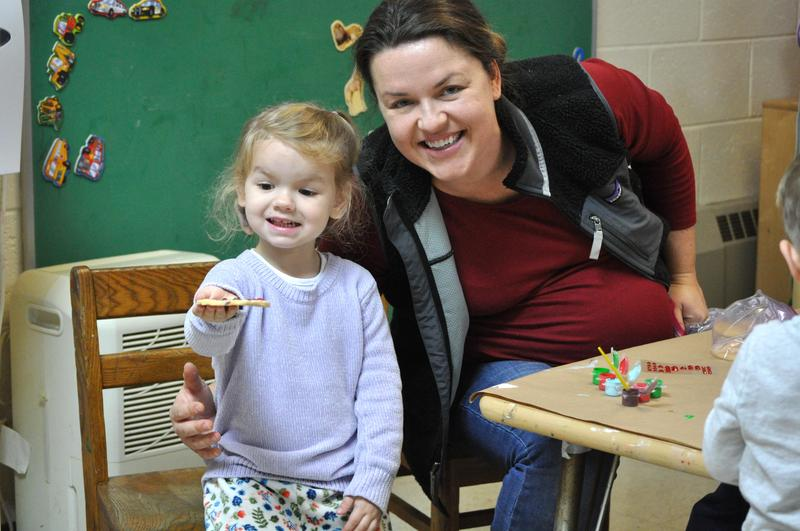 Nursery school parent visitor Featured Photo