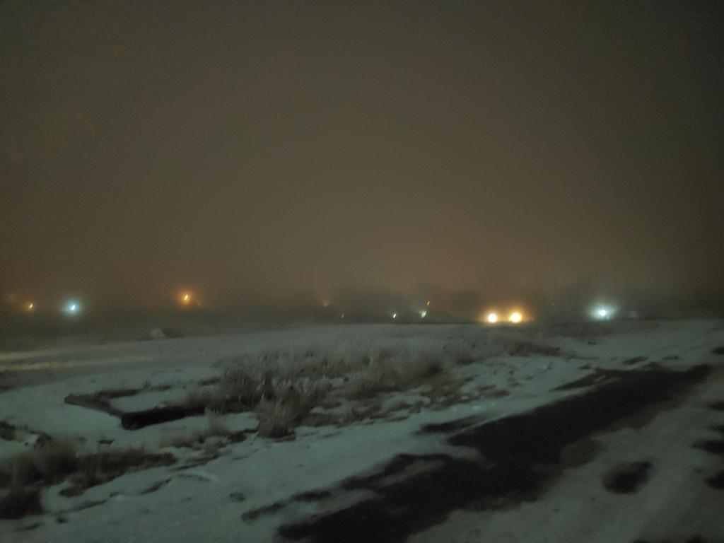 fog over the school