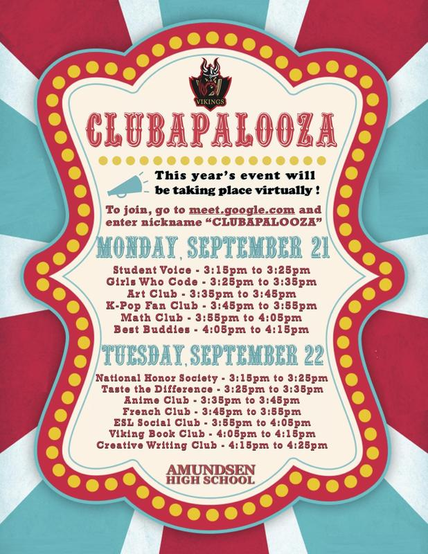 Club-A-Palooza is Going Virtual this Year! Featured Photo
