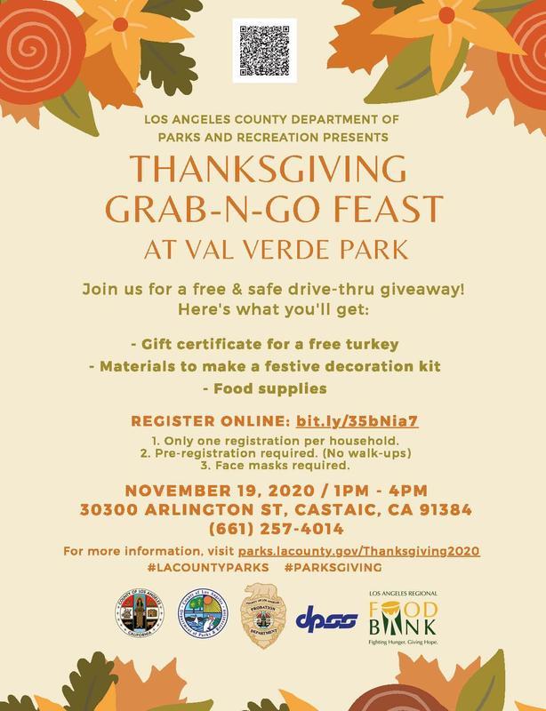 Thanksgiving Grab-n-Go Flier
