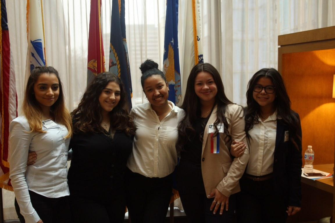 Girls of the JSA at Winter Debate