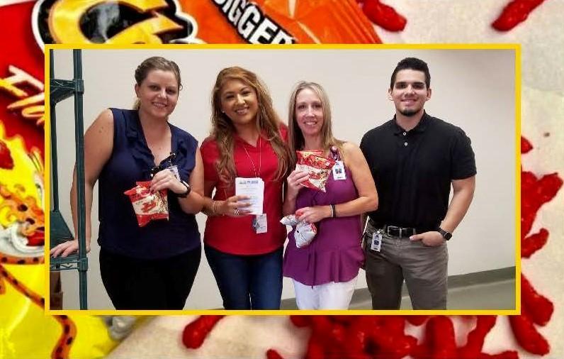 'I'm In' student attendance campaign rewards volunteers.