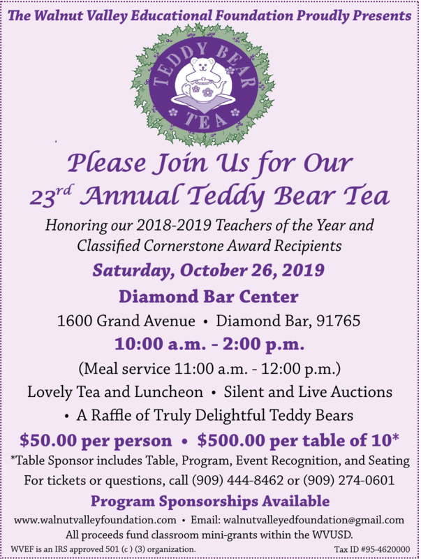 Teddy Bear Tea Coming Oct. 26 Featured Photo