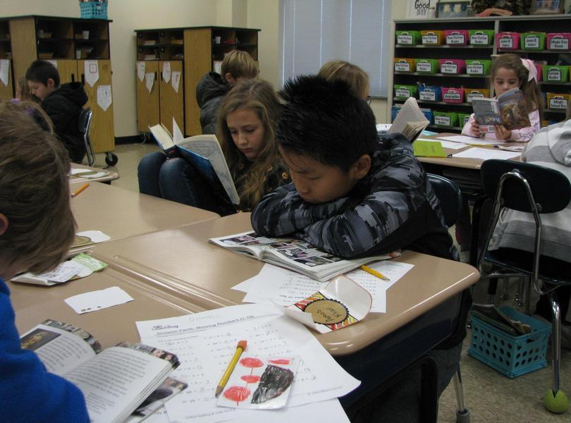 Friendship celebrates American Education Week by devoting time to reading- one of the most important skills in Education