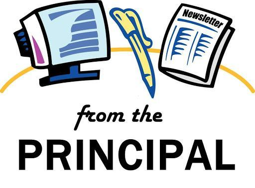 News from the principal