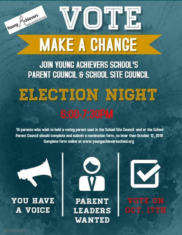 School Parent Council & School Site Council Election Night Featured Photo