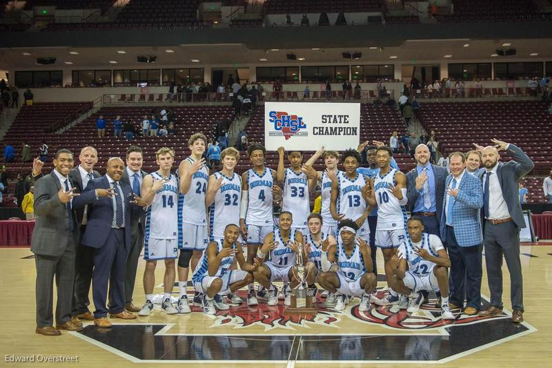 Picture of the Dorman Varsity Basketball Team