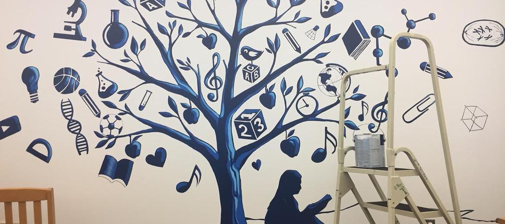 Media center artwork