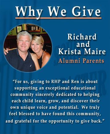 Richard and Krista Maire - Alumni Giving Testimonial