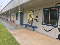 Sixth Grade Wing mural
