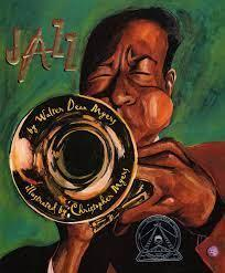 Boy playing a trumpet