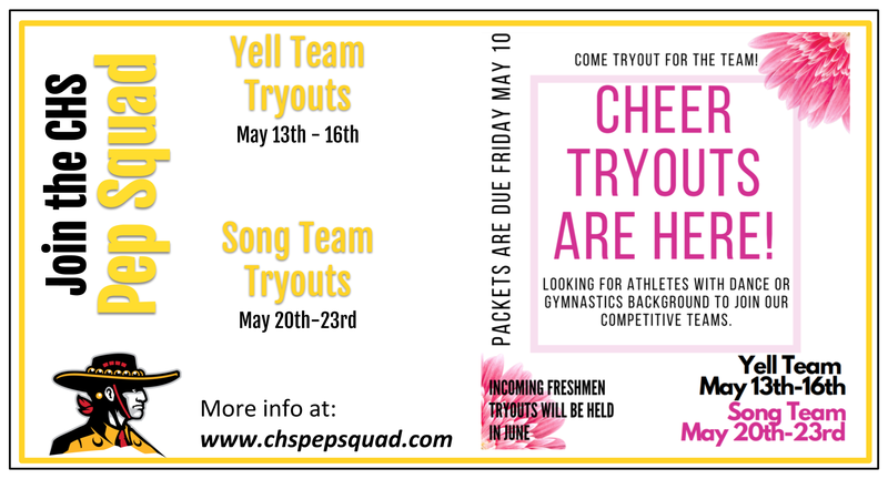 CHS Pep Squad Tryouts Featured Photo