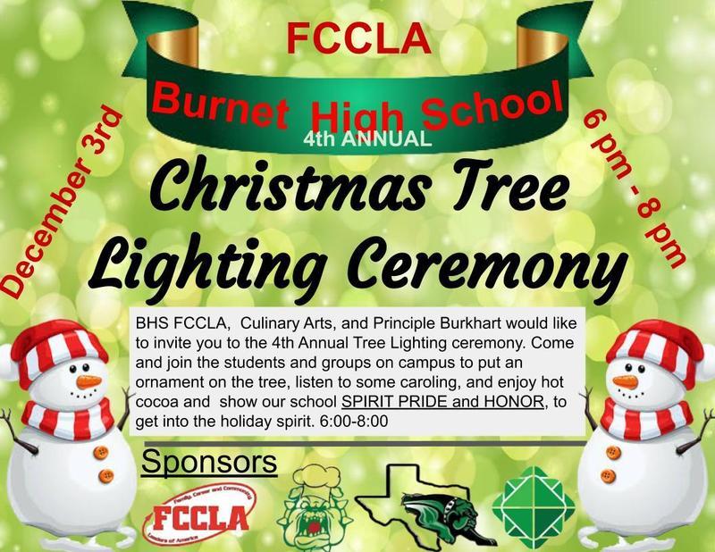 Christmas Tree Lighting - December 3rd Thumbnail Image