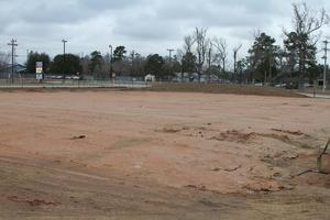 High school dirt work for CTE Wing