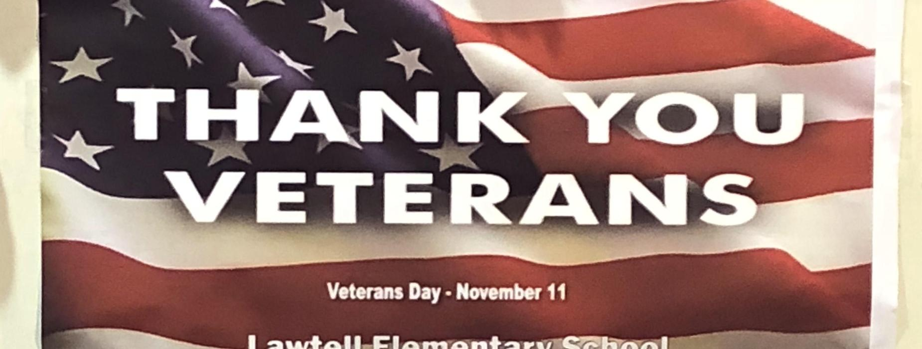 Giving thanks to our veterans