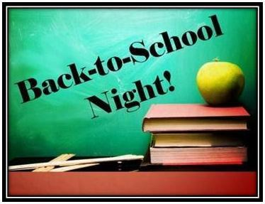2018 Back to School Night Information Featured Photo