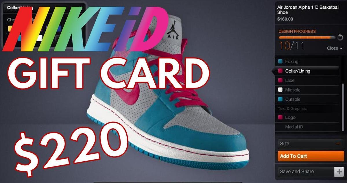 NikeID Gift Card