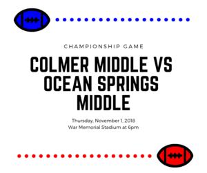 Colmer vs Ocean Springs football