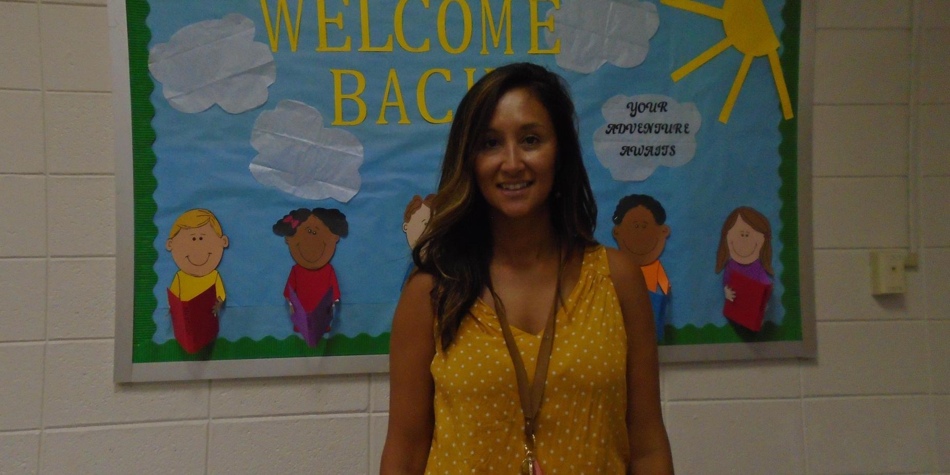 Congratulations to Mrs. Charis Restosoto, BRE's 2019-2020 Teacher of the Year!