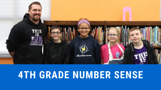 4th grade number sense