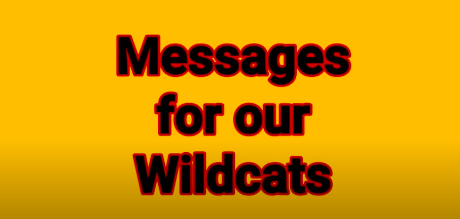 8th Grade Message Video