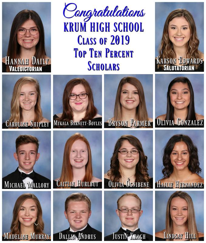 Congratulations to the Class of 2019 Top Ten Percent Scholars Featured Photo