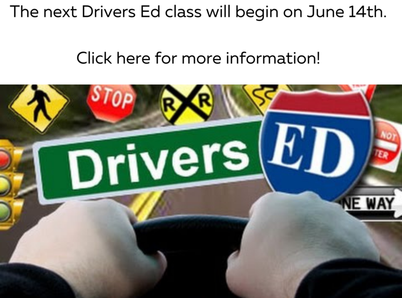 June Drivers Ed Class